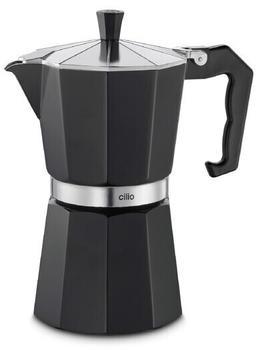 Cilio Espressokocher Classico Schwarz 80708