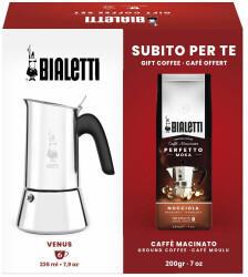 Bialetti Espressokocher Venus + Kaffee (Größe: 6 Tassen)