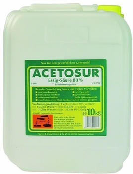 Speyer und Grund Acetosur Essig-Säure 80% Kanister (10l)