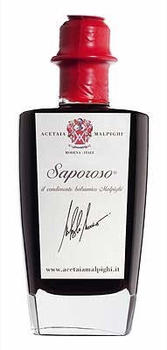Acetaia Malpighi Saporoso - Condimento Aceto Balsamico IGP (100ml)