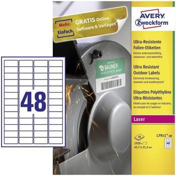 Avery Zweckform L7911-40