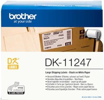 Brother Versand-Etiketten weiß, 103 x 164 mm (DK-11247)