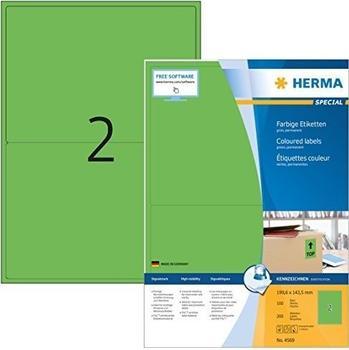 Herma Universal-Etiketten grün (4569)
