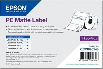 Epson Endlos-Etiketten matt (C33S045548)