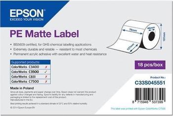 Epson Etikettenrolle matt (C33S045551)