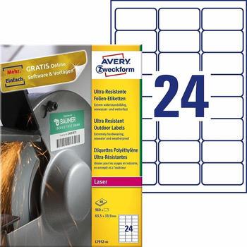 Avery Zweckform Folienetiketten L7912-40