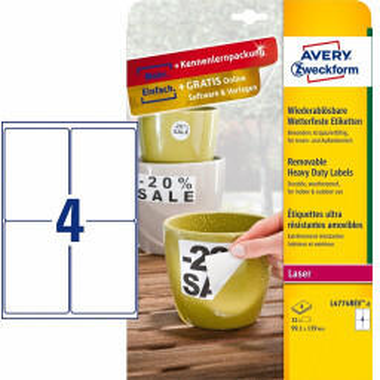 Avery Zweckform Folien-Etiketten L4774REV-8