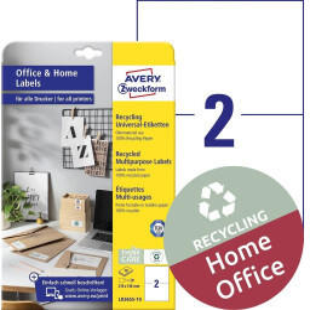 Avery Zweckform Recycling-Universal-Etiketten LR3655-10