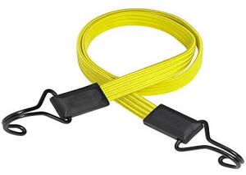 Master Lock Smooth Gummi-Spannseil gelb (100cm)