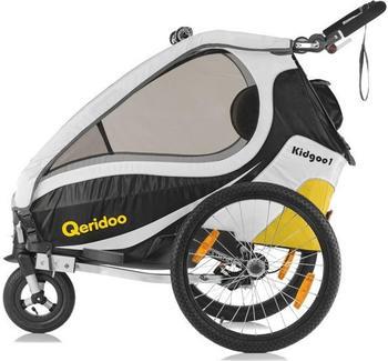 Qeridoo Bezug komplett für KidGoo1 2017 (grün)