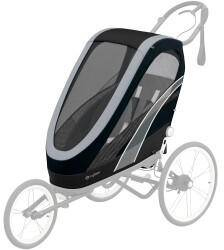 Cybex Zeno Sitzpaket All Black