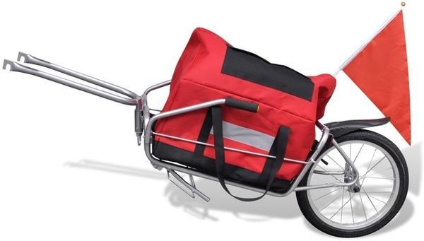 vidaXL Lasten-Transportanhänger mit Aufbewahrungsbeutel