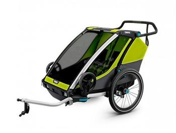Thule Chariot Cab2, Chartreuse (altes Modell)
