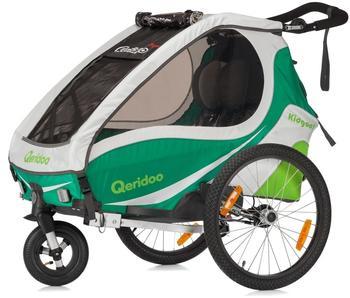 Qeridoo Kidgoo 1 (2017) mit Scheibenbremse grün