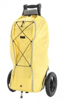 BURLEY Regenverdeck für Travoy gelb