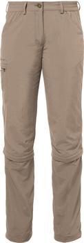 VAUDE Women's Farley ZO Capri Pants muddy
