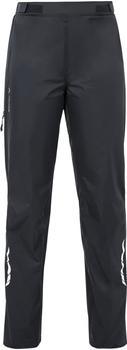 VAUDE Women's Tremalzo Rain Pants black