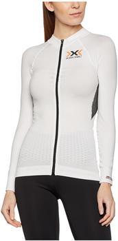 X-Bionic X-Bionic The Trick Biking Shirt Long Sleeves Full Zip Women white/black