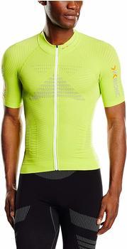 X-Bionic Effektor Biking Powershirt Shirt Short Sleeves Full Zip white