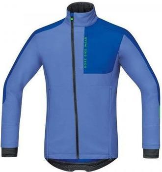 Gore Power Trail Windstopper Soft Shell Jacke blizzard blue/brilliant blue