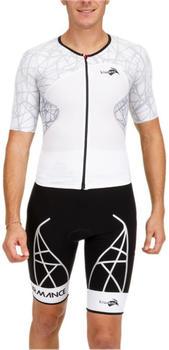Kiwami Spider LD Aero Trisuit white black (SPIDLDM - 12**X018)