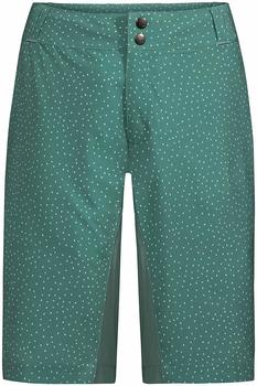 VAUDE Women's Ligure Shorts nickel green