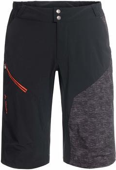 VAUDE Men's Slickrock Shorts black-anthracite