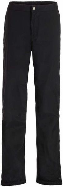 VAUDE Men's Yaras Rain Pants III black-Short