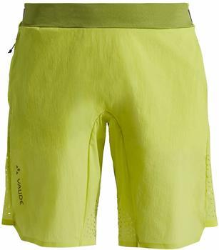 VAUDE Women's Green Core Tech Shorts duff yellow
