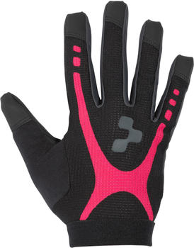 Cube WLS Handschuhe Race Touch Langfinger black 'n' raspberry 'n' anthracite