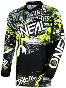 oneal-element-jersey-kids-attack-black-hi-viz