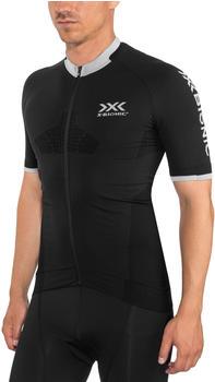 X-Bionic Invent 4.0 Bike Race Zip Trikot SH SL Men's black melange