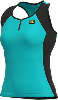 Alé Cycling Solid Color Block Tank Top Woman's turquoise