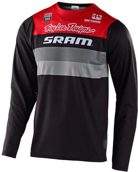 troy-lee-designs-skyline-trikot-sram-black-red
