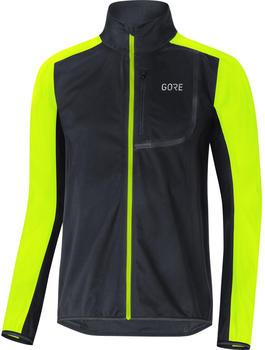 Gore C3 GWS Jacket black/neon yellow