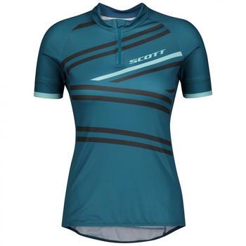 Scott Women's Shirt Endurance 30 S/S Lunar Blue / Stream Blue