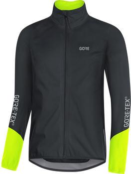 Gore C5 GTX Active Jacket black/neon yellow