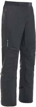 VAUDE DROP Pant II Rain pants -Langgröße- black uni