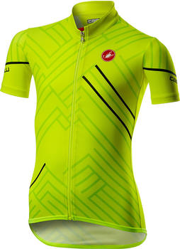 Castelli Campioncino Jersey (2021) yellow fluo