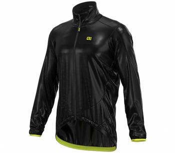 Alé Cycling Guscio Light Pack jacket black