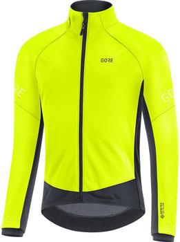 Gore C3 Gore-Tex Infinium Thermojacke gelb/schwarz