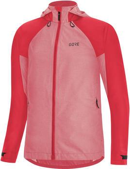 Gore C5 Gore-Tex Trail Kapuzenjacke Damen hibiscus pink