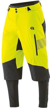 Gonso Men Sirac 3in1 Bikeshorts safety yellow