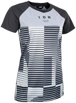 ion Tee Short Sleeve Scrub Amp Mesh_Ine black