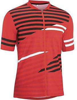 Gonso Agno Full-Zip Shirt Mens (2021) high risk red
