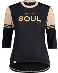 Maloja KastanieM. Gravel Shirt Womans (2021) moonless