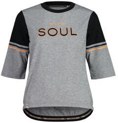 Maloja KastanieM. Gravel Shirt Womans (2021) grey melange