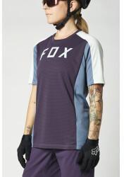 Foxracing Fox Defend Short Sleeve Trikot Women (2021) dark purple