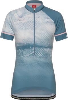 Löffler Premium Sportswear Löffler Grunge Half-Zip Biketrikot Womans (2021) enzian