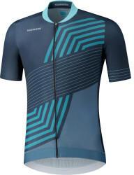 shimano-kita-short-sleeve-zip-shirt-men-2021-navy